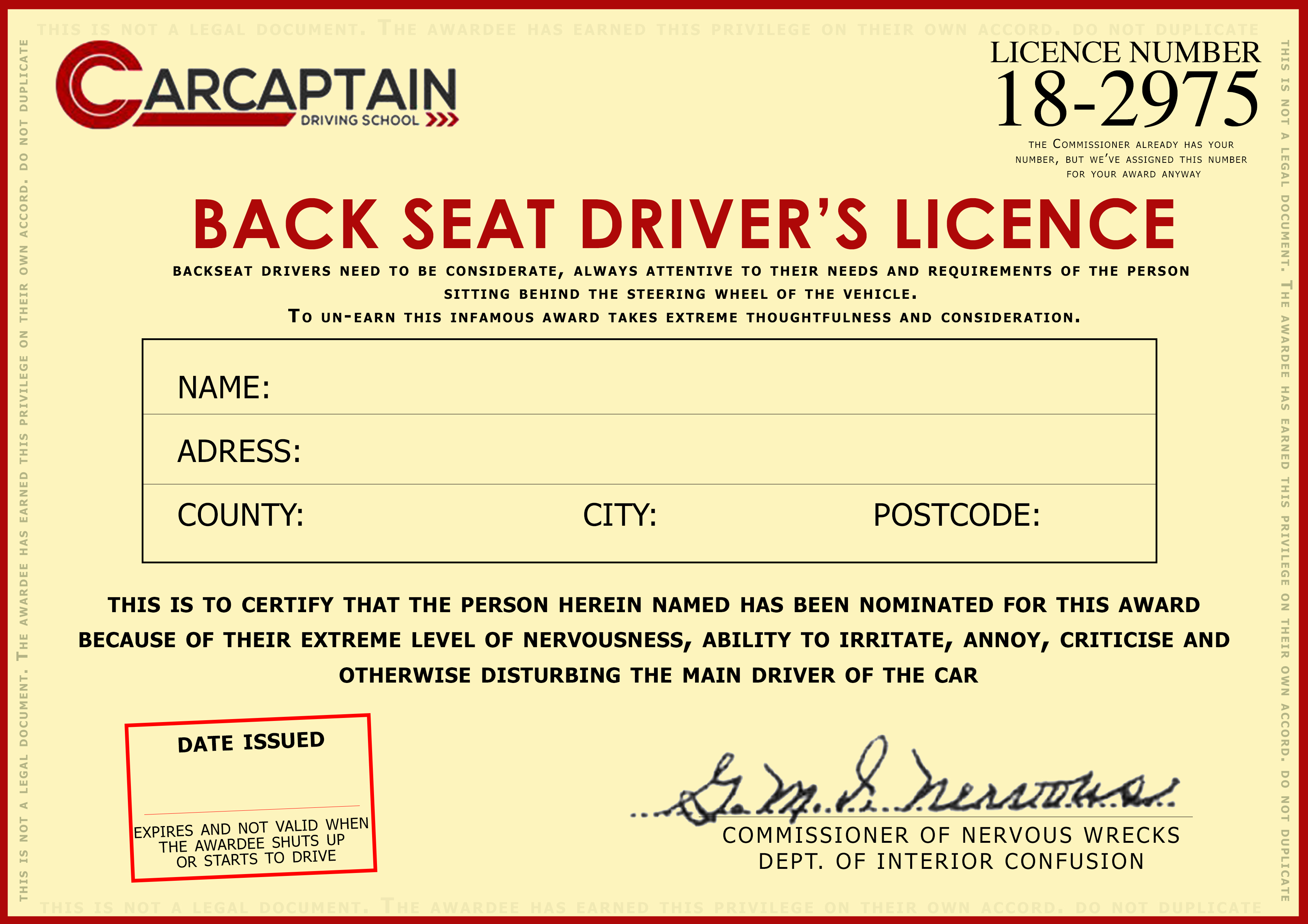Backseat Driver - Updated3